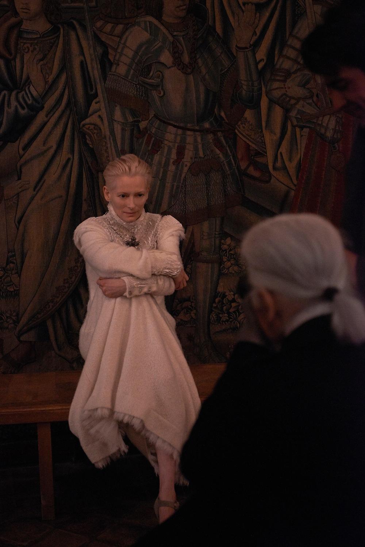 CHANEL - Tilda Swinton for the Paris-Edimbourg Collection � Olivier Saillant