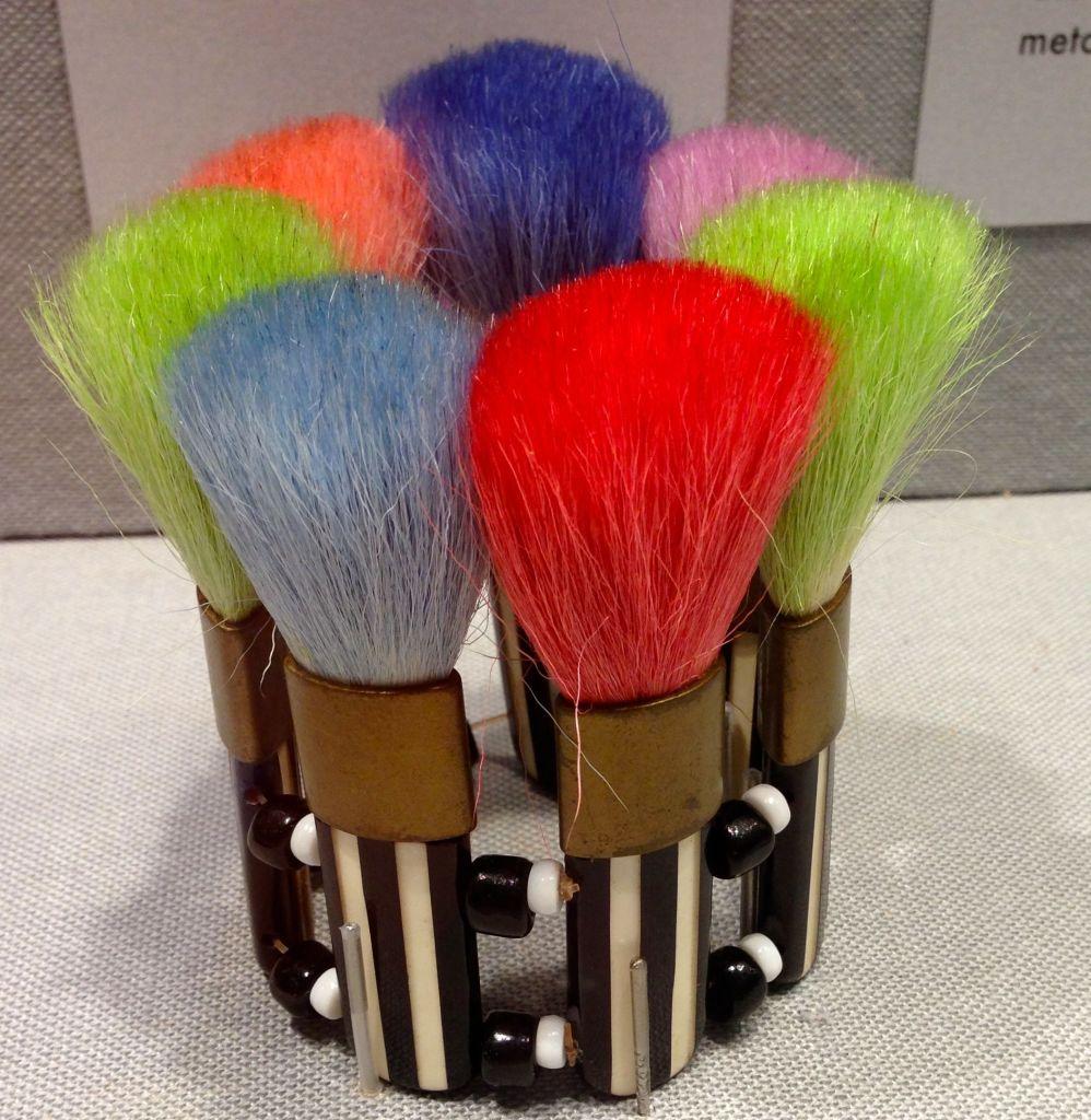 Karl Lagerfeld bristle brush bracelet