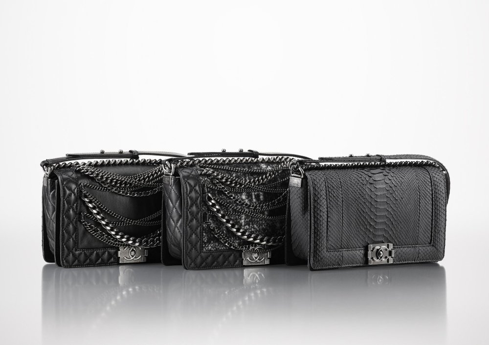 2013-14 Fall-Winter_BOY CHANEL bags_Supple version -Autome-Hiver 2013-14_sacs BOY CHANEL_version souple