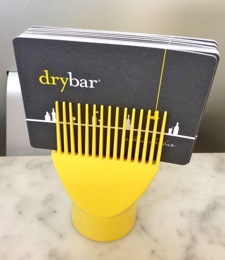dry bar card