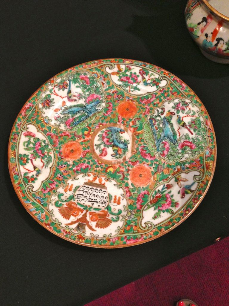 chinese porcelain islamic calligraphy