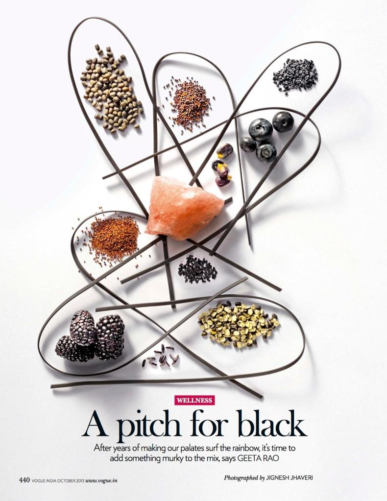 black foods