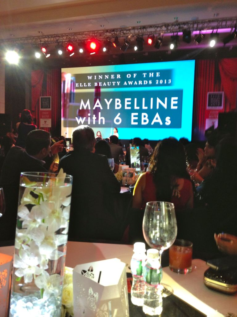 maybelline wins with six eba's