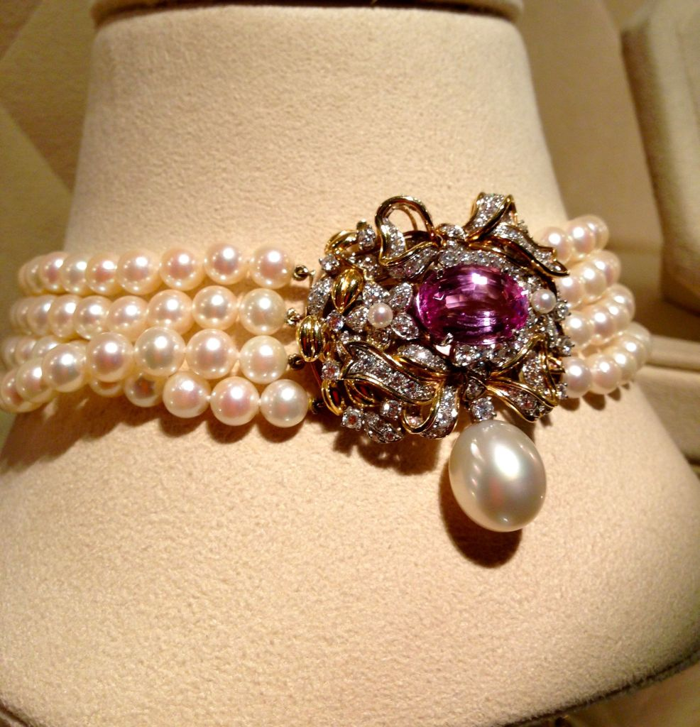 pearl necklace verdura