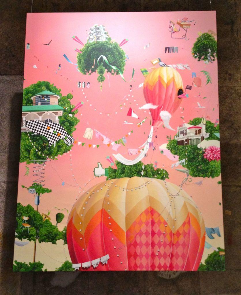 thukral pink balloon