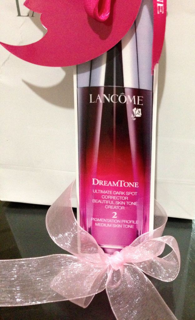 lancome dreamtone bottle cut out