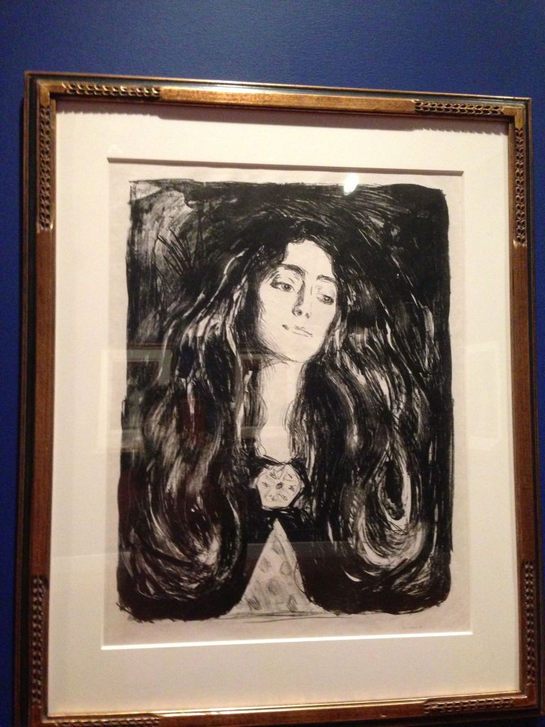 munch the brooch