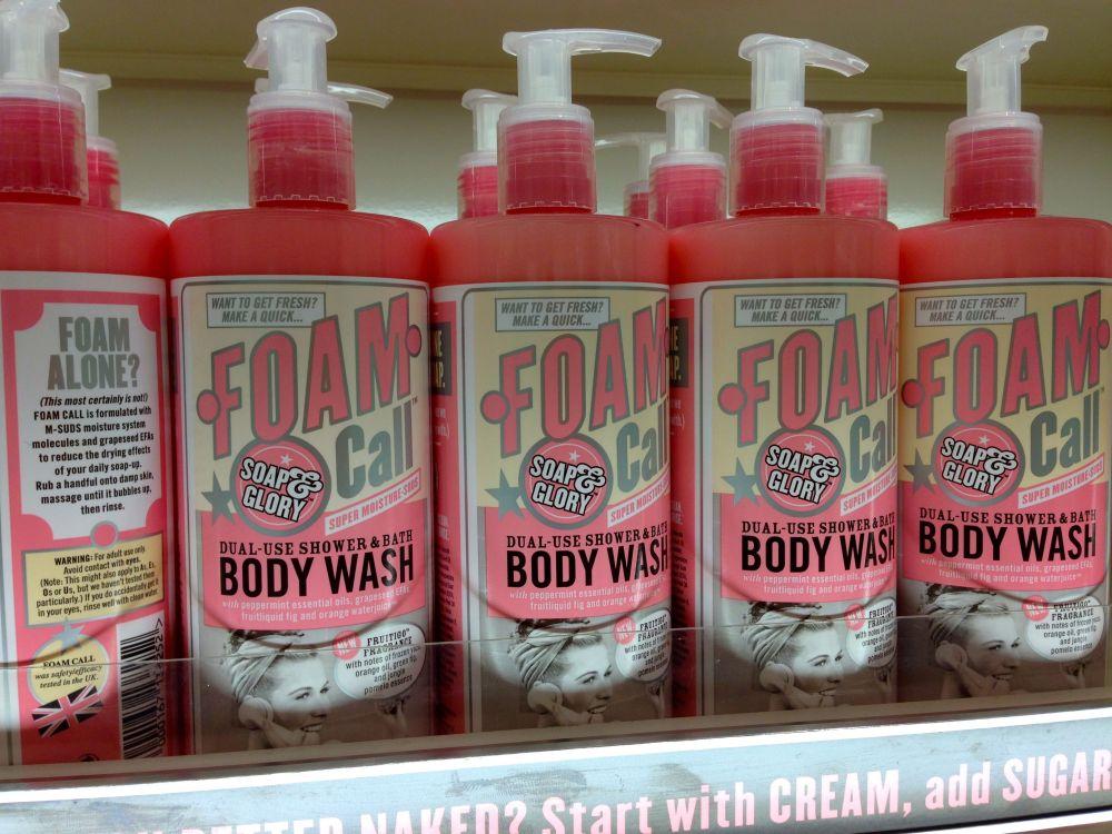 soap and glory foam