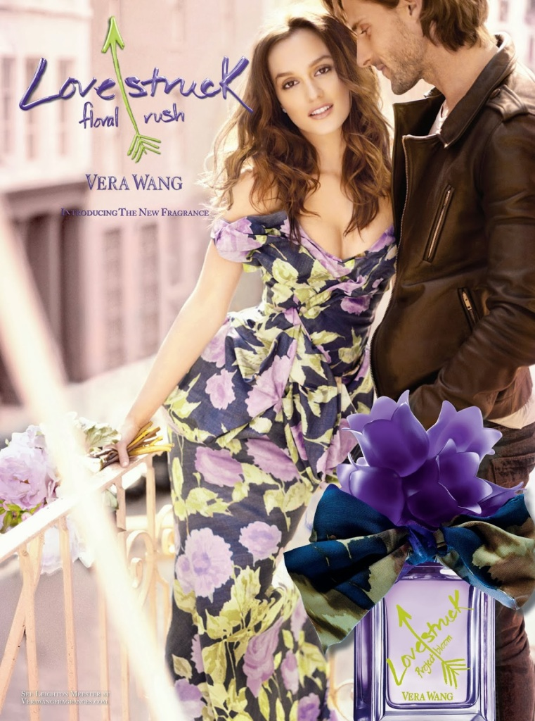 Leighton Meester for Lovestruck Floral Rush Perfume by Vera Wang