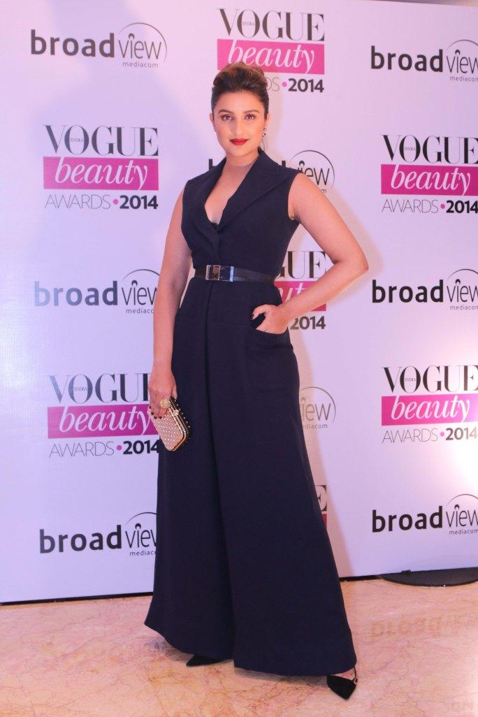 Parineeti Chopra, winner of 'Flawless Face' at the Vogue Beauty Awards 2014,Taj Lands End,Mumbai