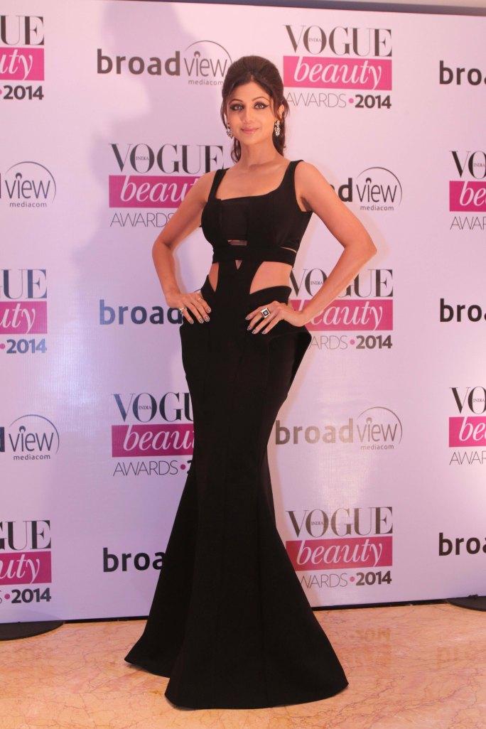 Shilpa Shetty, Jury Member at the Vogue Beauty Awards 2014,Taj Lands End,Mumbai