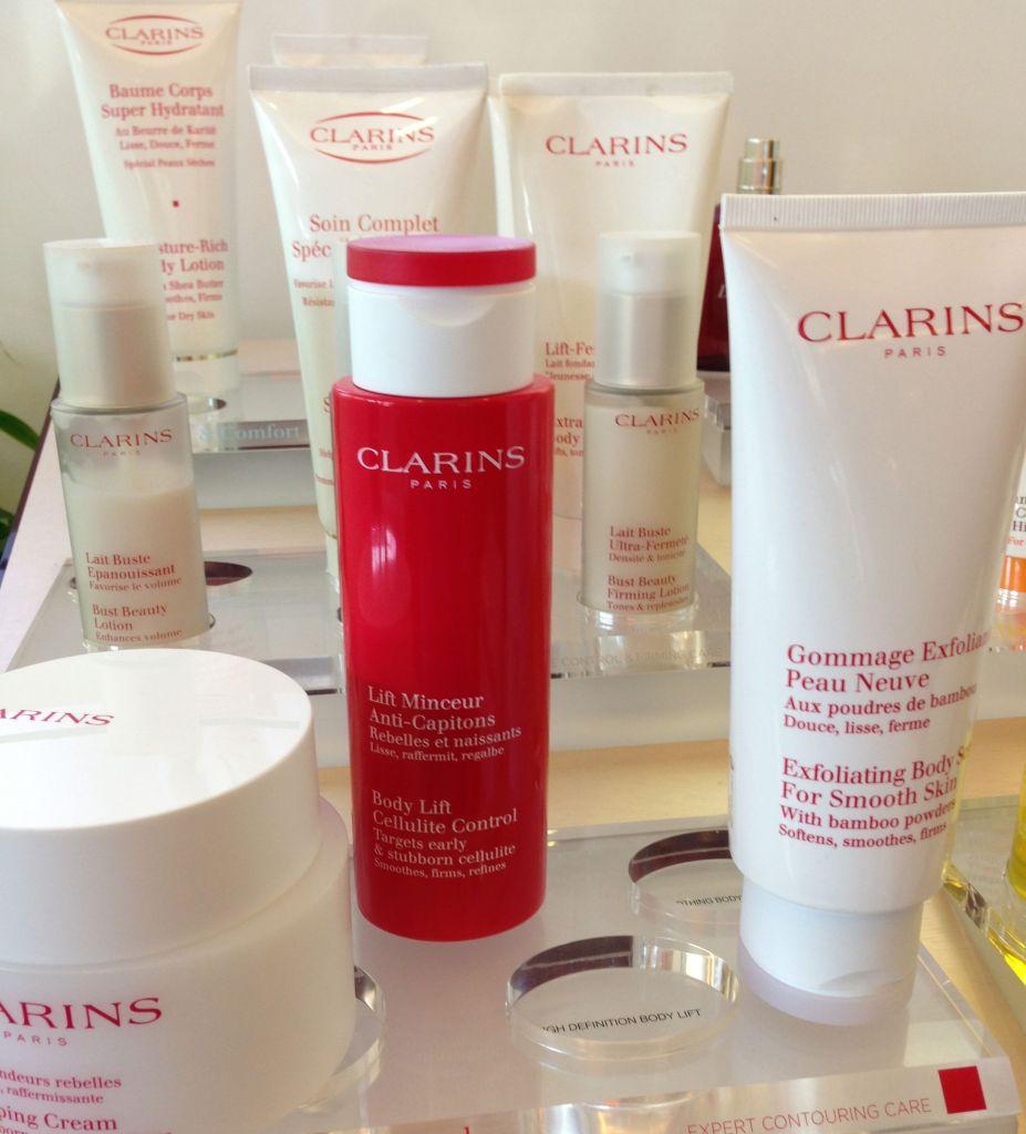 clarins cellulite control