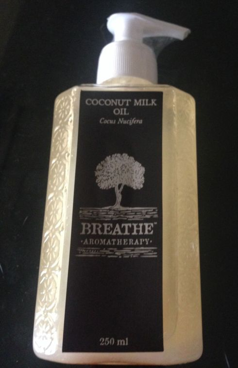 breathe solo - coconut milk oil