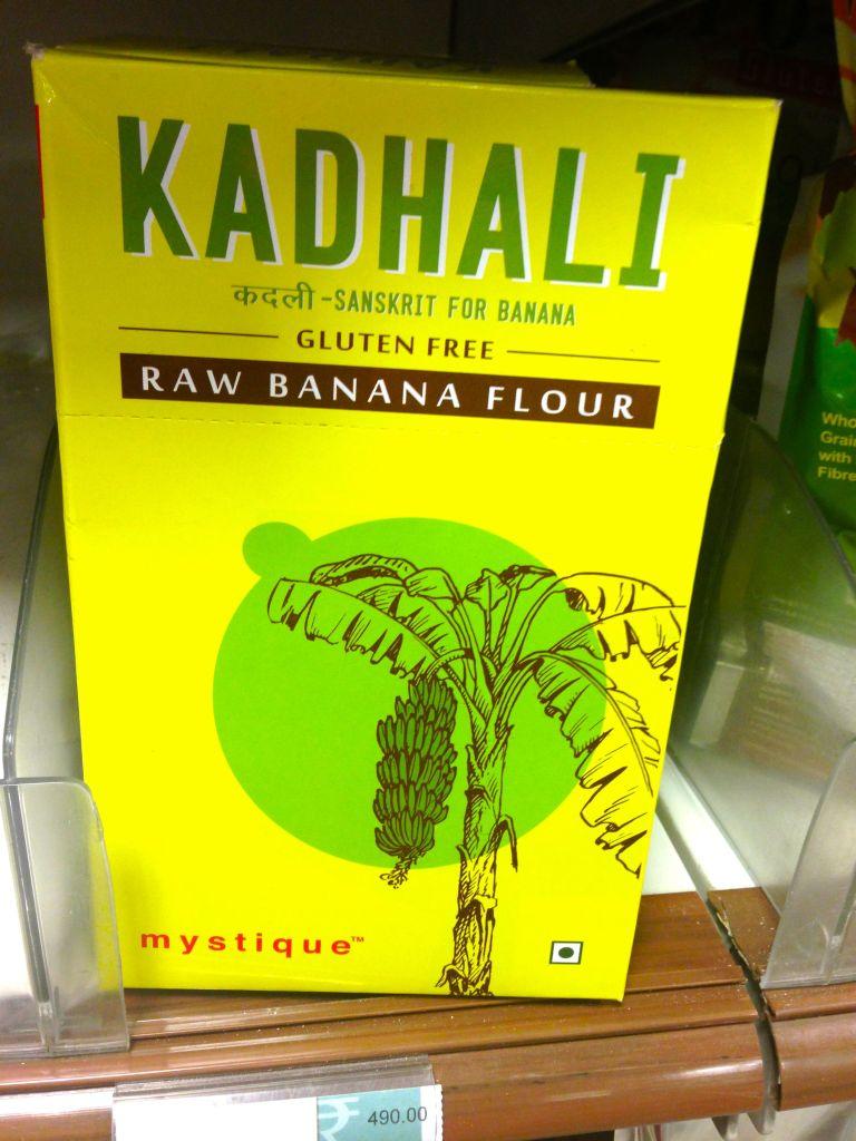 gluten free raw banana flour