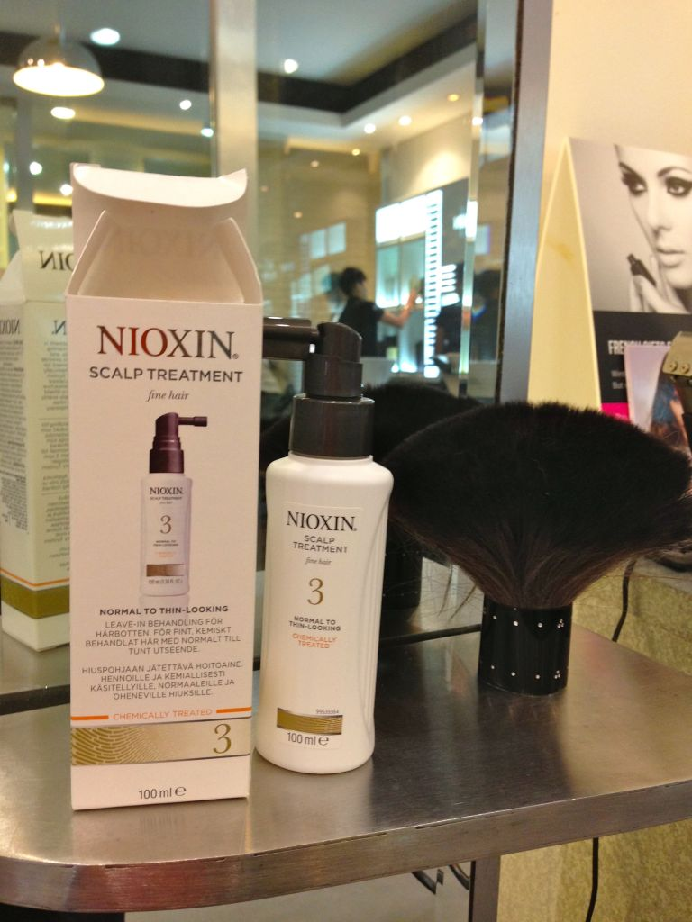 nioxin experential