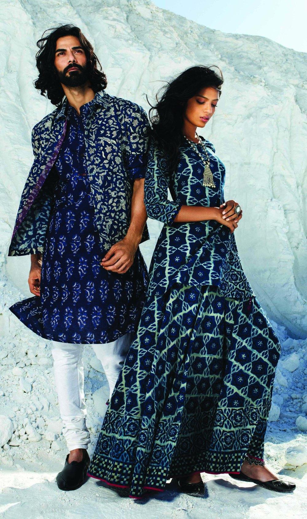 Fab India The Indigo Collection Geeta S List